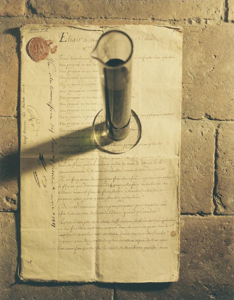 manuscrito elixir de chartreuse